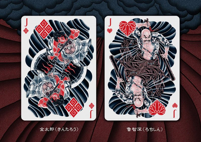 Sumi Playing Cards