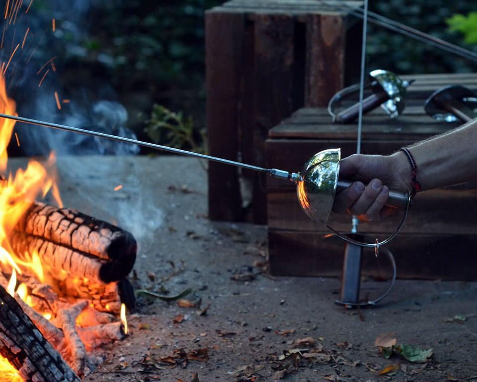 Sword Campfire Roaster