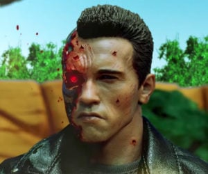 Terminator 2 Stop-Motion Battle