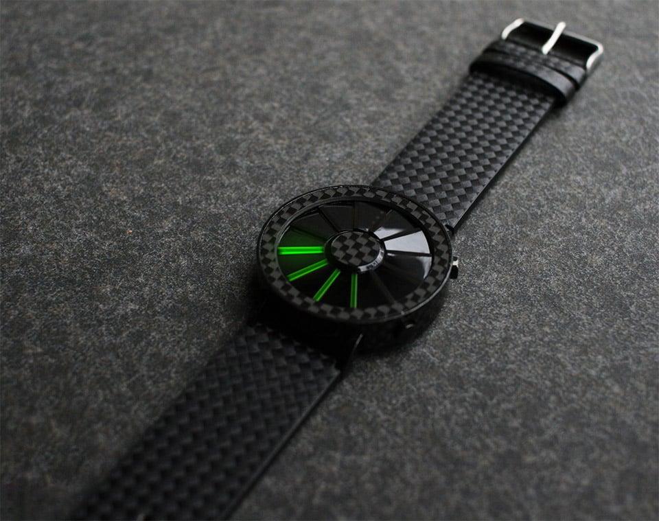 Carbon Fiber Blade Watch