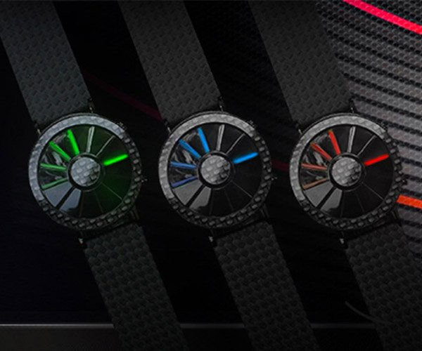 Tokyoflash Carbon Fiber Blade Watch