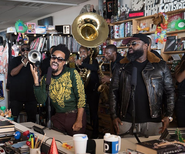 The Roots & Bilal: Tiny Desk Concert