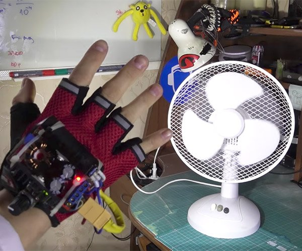 "DIY ""Time Control"" Glove"