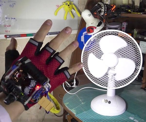 "DIY ""Time Control"" Glove"