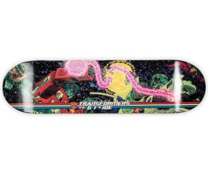 Transformers vs. G.I. Joe Skate Deck