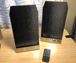 VETR PANL1 Carbon Fiber Speakers