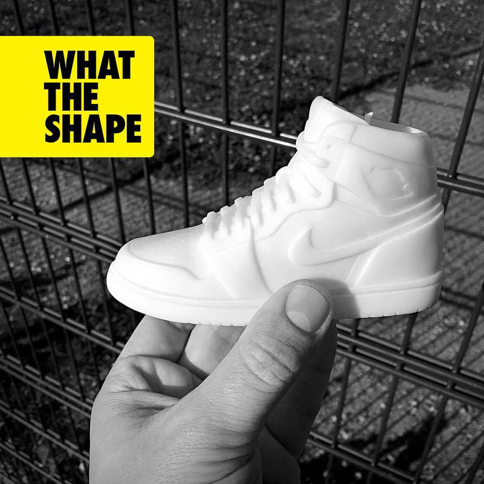 What the Shape Sneaker Candles