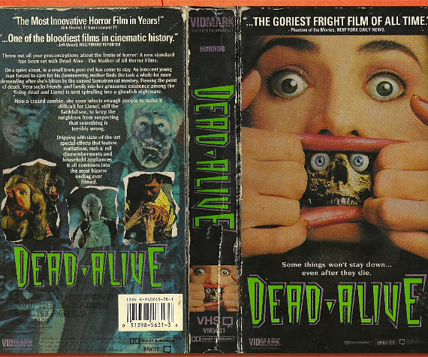 The Allure of Horror VHS Covers