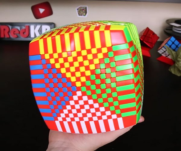 The 17x17x17 Rubik's Cube