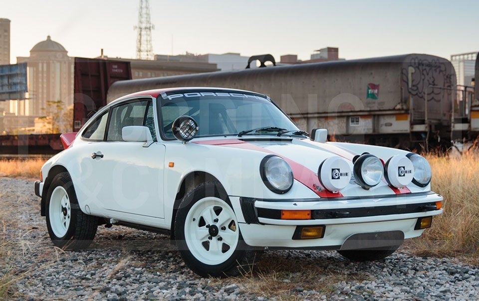 This custom made porsche carrera is an ode to the 911s rally heritage 1984 porsche 911 safari sciox Image collections