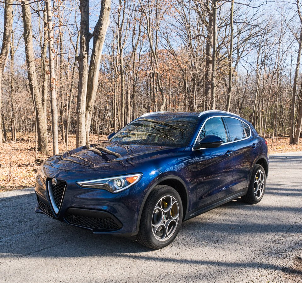 driven 2018 alfa romeo stelvio the awesomer. Black Bedroom Furniture Sets. Home Design Ideas