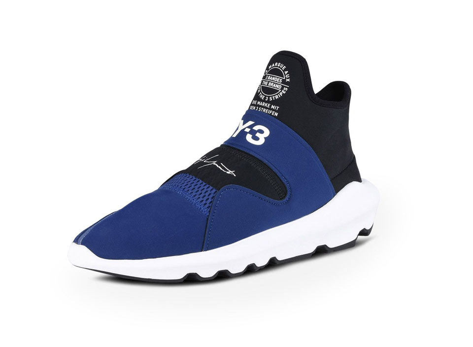 2c1bed3eb The Adidas Y-3 Suberou is a Comfortable Neoprene Mid-cut Slip-on Shoe