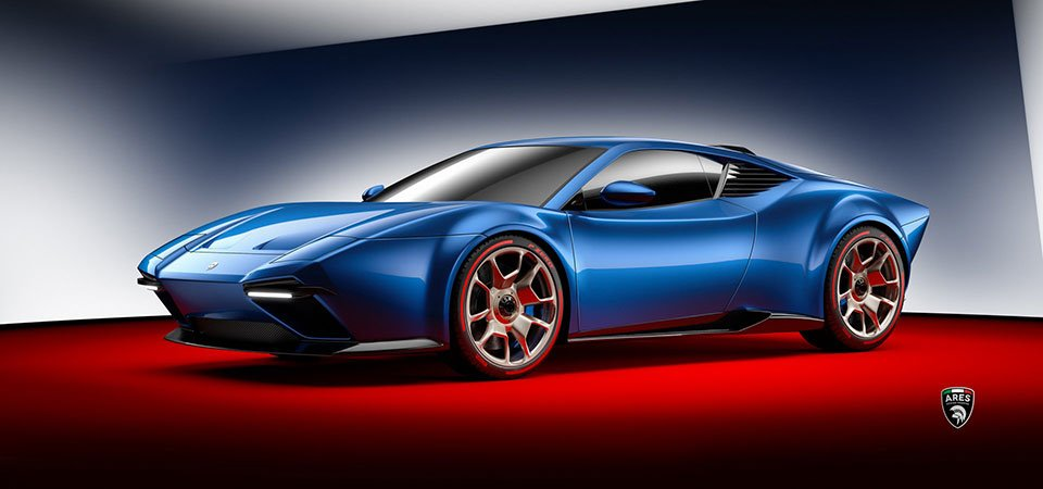 Ares Project Panther Sports Car