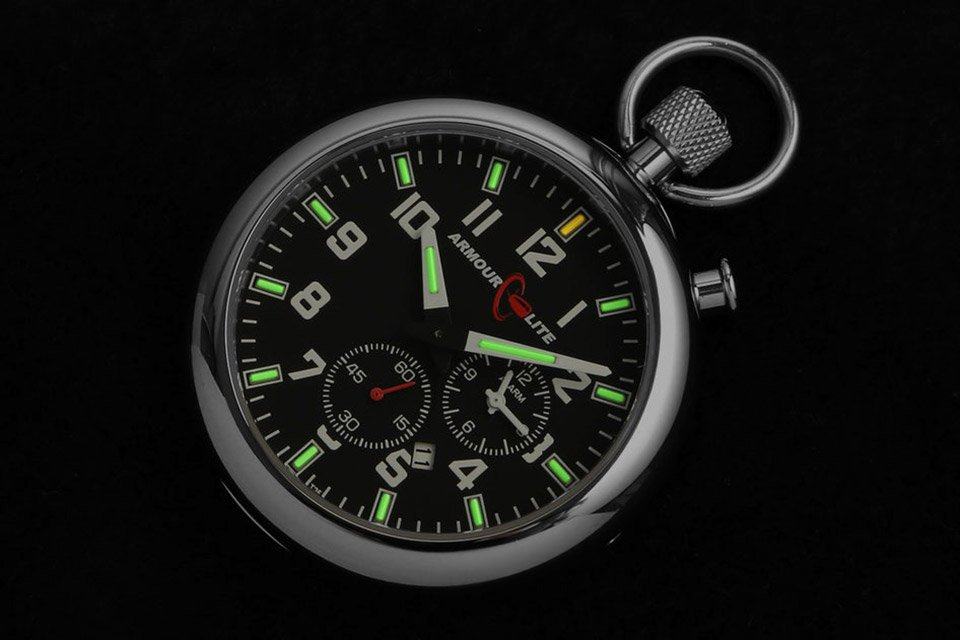 ArmourLight Tritium Pocket Watch