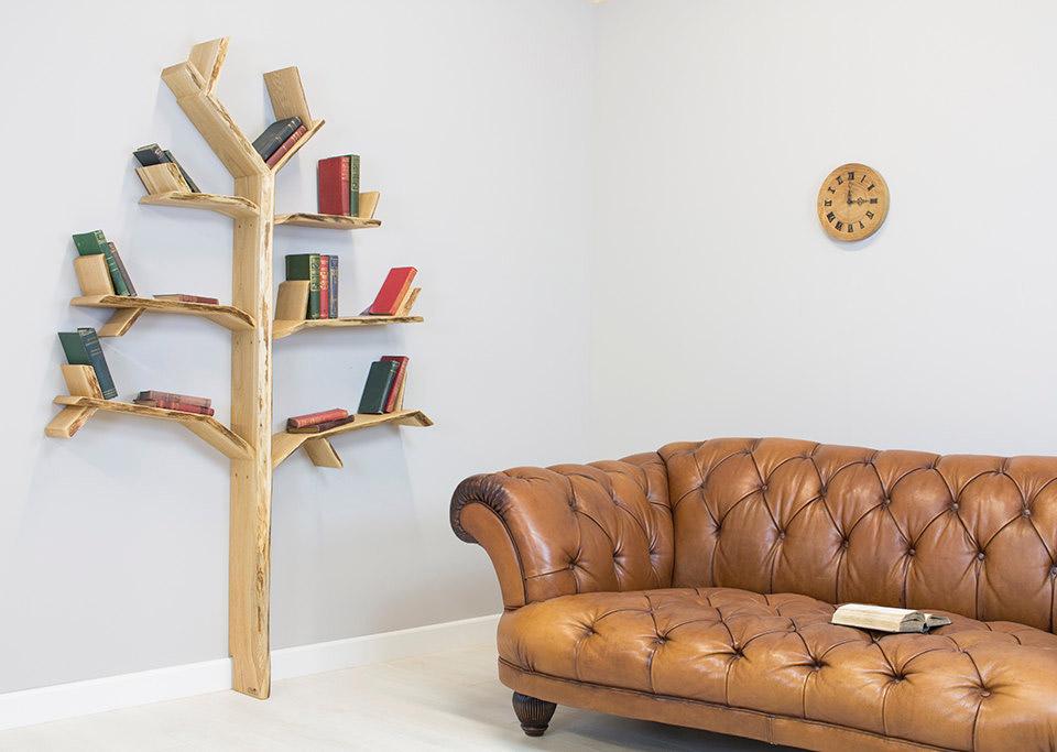 BespOak Tree Bookshelves