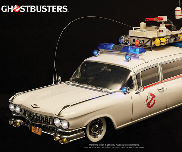 Blitzway Ghostbusters Ecto-1 Scale Model