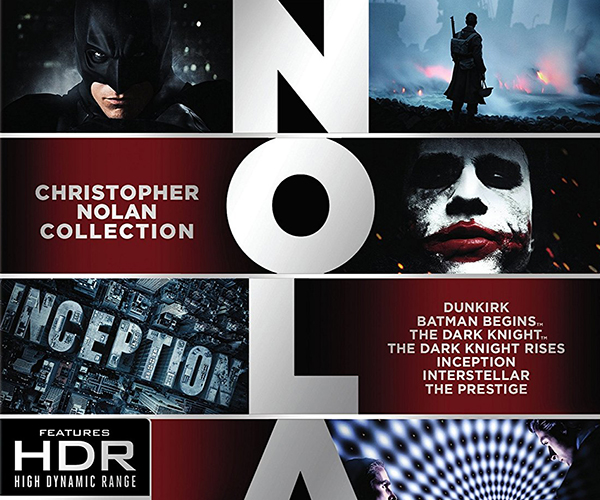 Christopher Nolan 4K HDR Blu-ray Set