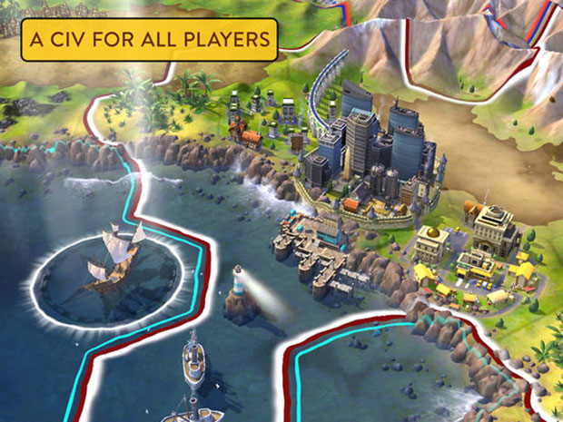 Civilization VI on iPad