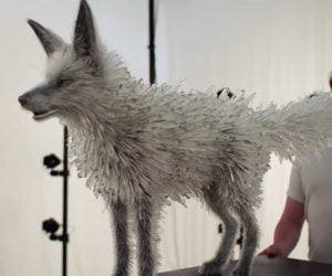 The Crystal Fox Puppet