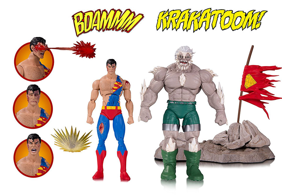 Death of Superman Action Figure Set