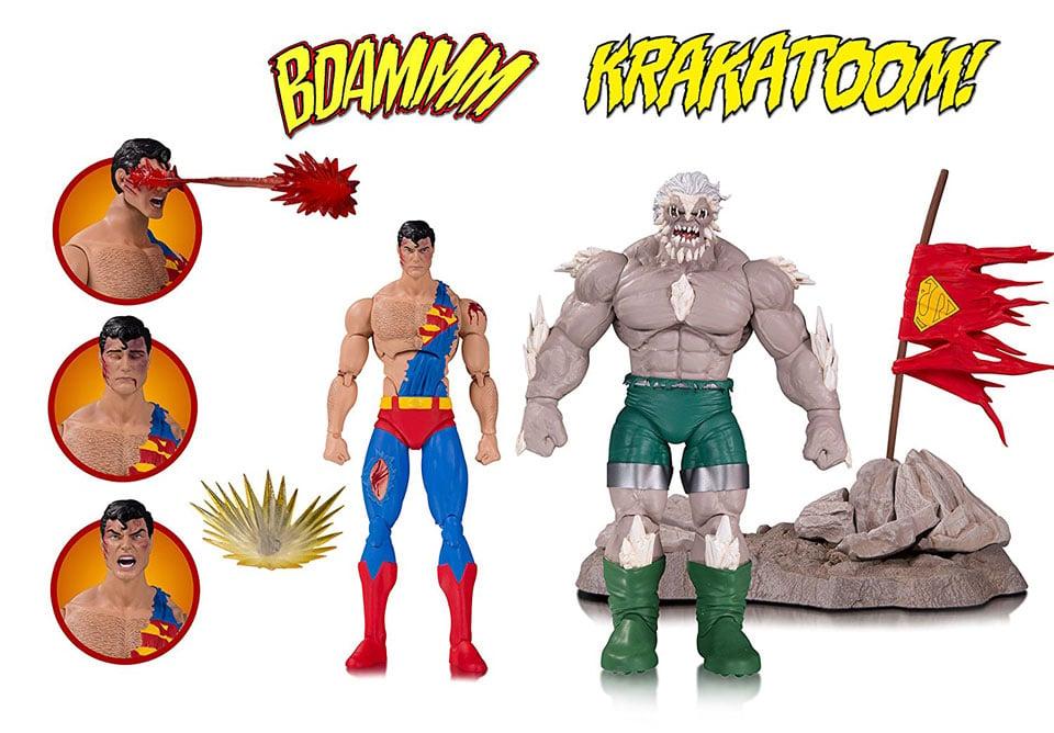 Death of Superman Action Figure Set