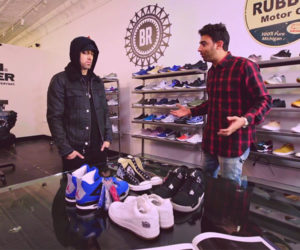 Eminem Goes Sneaker Shopping