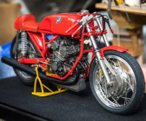 Glen English Motorcycle Scale Models