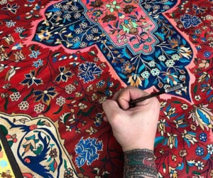 Hand-painted Persian Carpets
