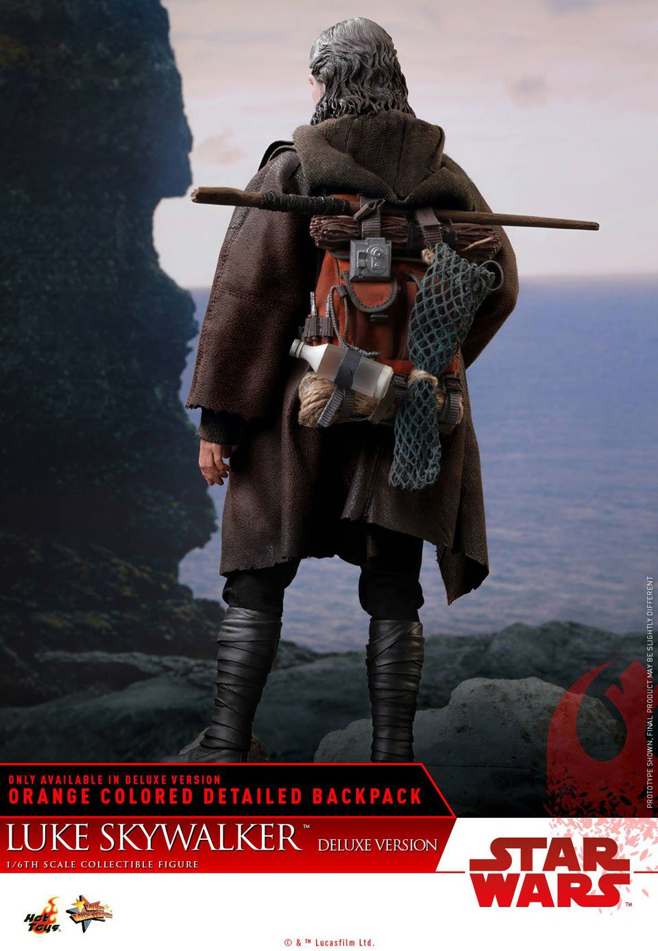 Hot Toys Luke Skywalker Last Jedi Figure