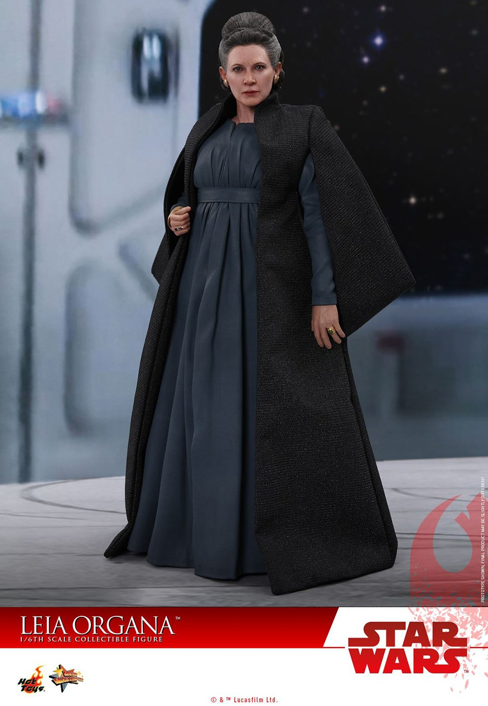 Hot Toys Leia Last Jedi Action Figure