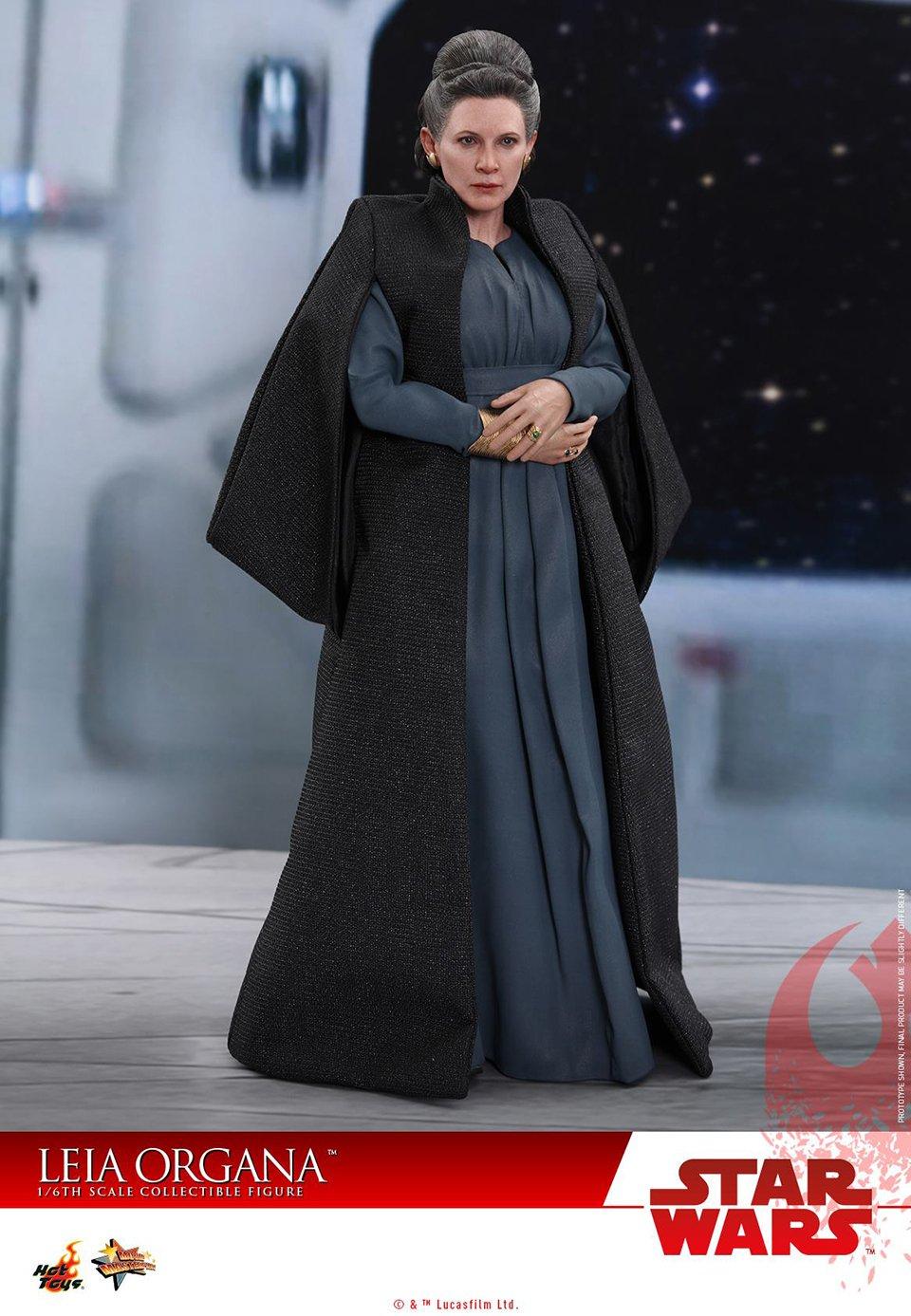 Hot Toys Leia Last Jedi Action Figure
