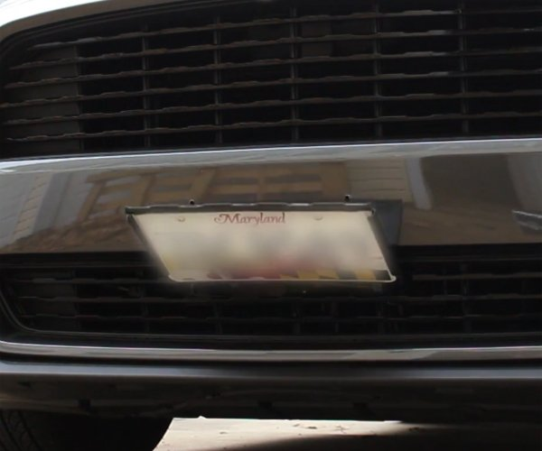 How to Make a Retractable License Plate