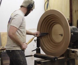 Making a Giant Segmented Bowl