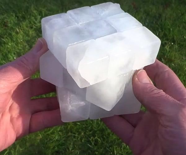 Ice Rubik's Cube