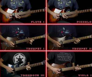 Imperial March Guitar Orchestra