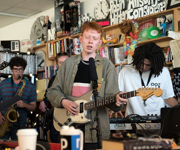 King Krule: Tiny Desk Concert
