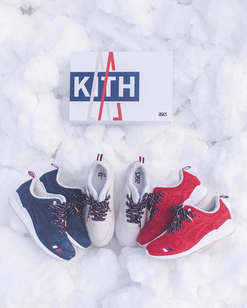 pala roble lucha  Kith, Moncler and Asics Get the Gel Lyte III Ready for the Holiday ...