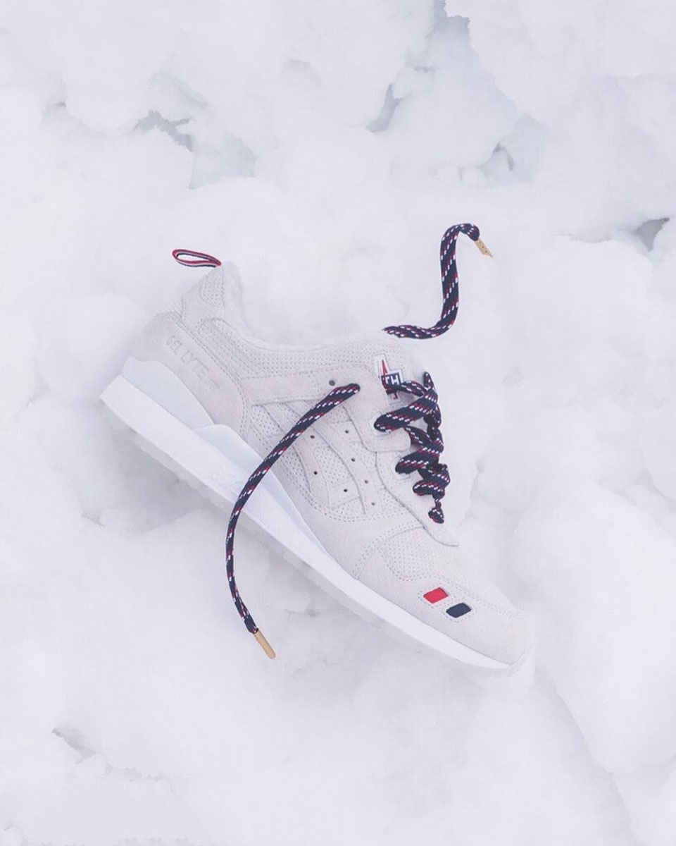 new product 6dad4 24cd6 Kith, Moncler and Asics Get the Gel Lyte III Ready for the ...