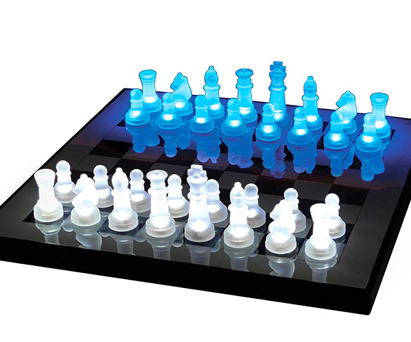 LumiSource LED Chess Set