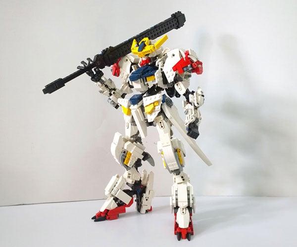 LEGO Gundam Barbatos Lupus Concept