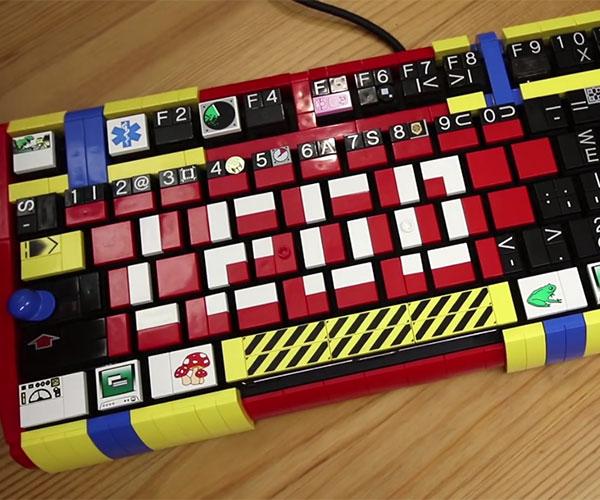 Mechanical LEGO Keyboard 2.0