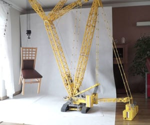 LEGO RC 1:24 Crane Scale Model