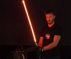 Making a Real Lightsaber