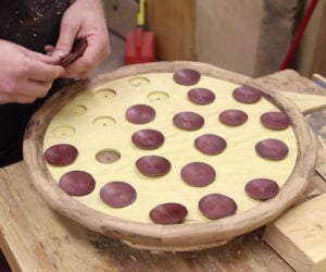 Making a Wooden Pizza