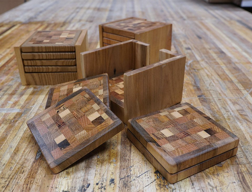 Making End Grain Coasters