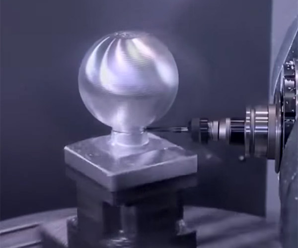 Machining a Sphere