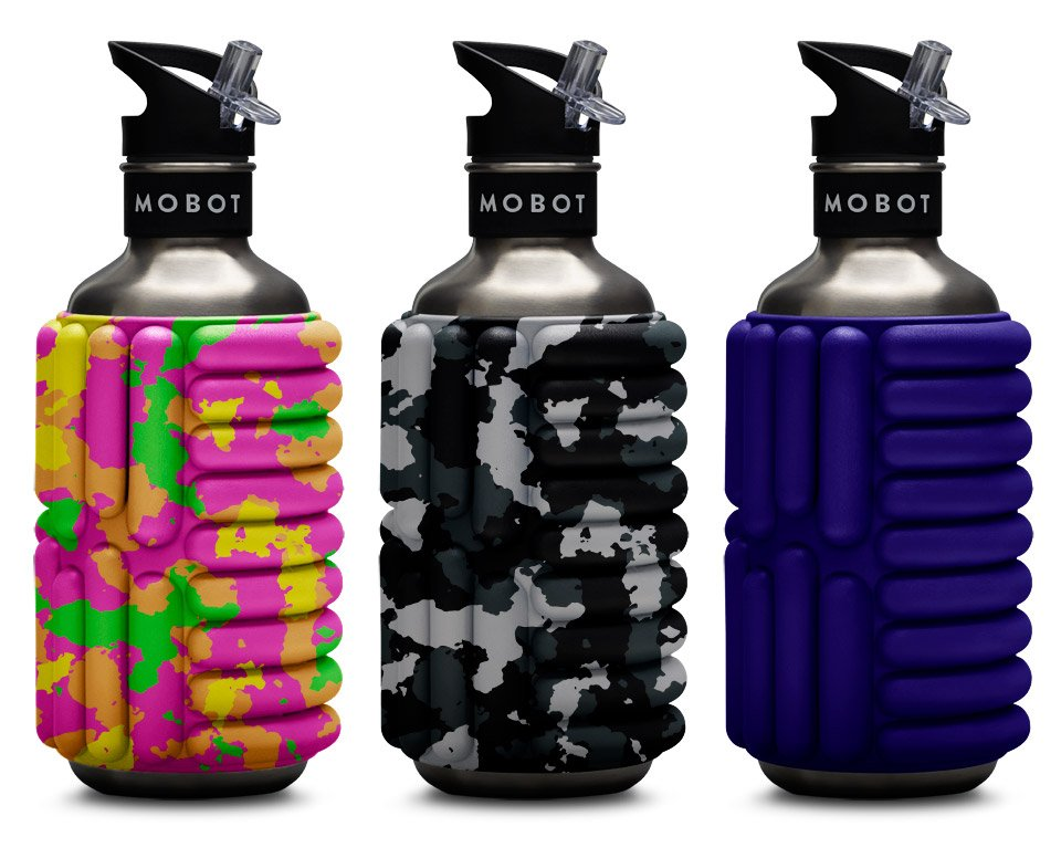MOBOT Foam Roller Water Bottles