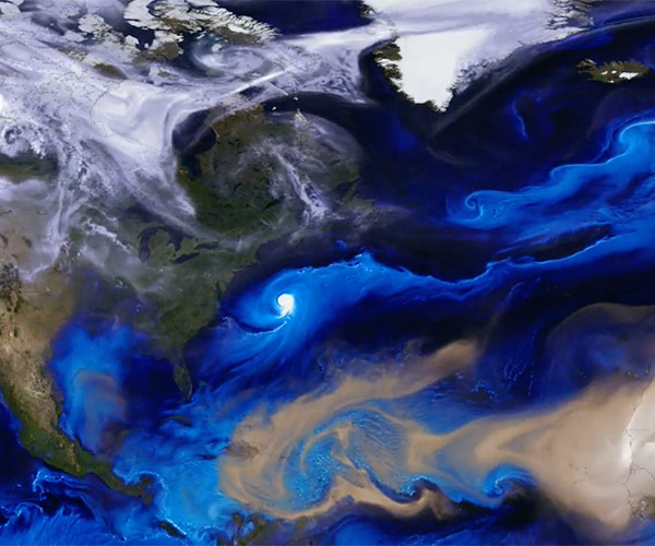 NASA Aerosol Simulation