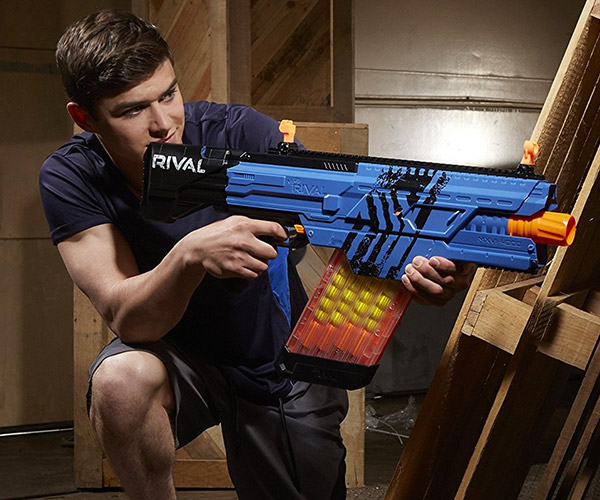 Nerf guns - they're really rather popular here at Splash Damage. One of our  artists, Laurens Corijn, already made his mark with a custom Nerf gun based  on ...