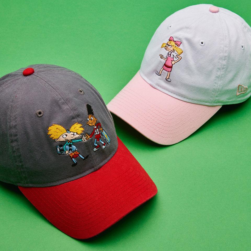 New Era x Nickelodeon '90s Caps